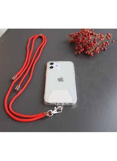 MobilCadde Mobil Cadde Cep Telefonu Askısı Kırmızı